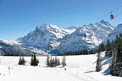 Jungfrau Ski Region - Gondelbahn Grindelwald