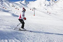 Skifahren in Silvretta Arena-Samnaun