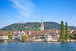 Bodensee Schweiz, Altstadt von Stein-Am-Rhein