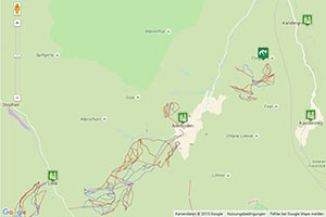 Skigebiet Adelboden-Lenk-Frutigen Karte