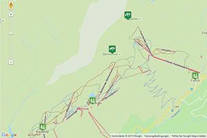 Skiarena Aletsch Karte