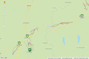 Skiarena Andermatt-Sedrun Karte