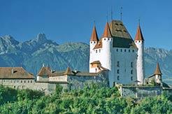 Urlaub im Berner Oberland - Schloss Thun