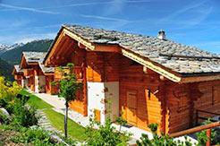 Chalets und komfortable Ferienhäuser und Ferienwohnungen in der Schweiz