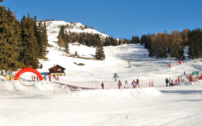 Skipiste für Skiurlaub in Crans Montana