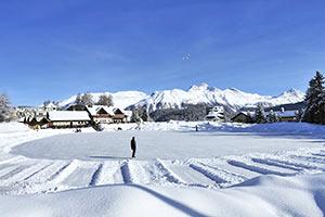 Ferienwohnungen für Skiurlaub im Skigebiet Engadin