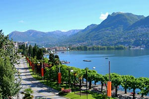 Luganer See - Lago di Lugano