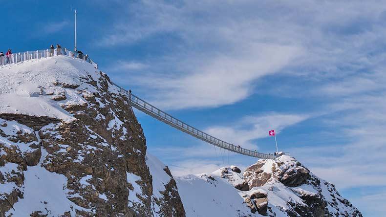Glacier 3000 Hängebrücke