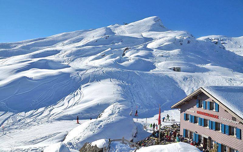 Grindelwald, Berner Oberland, Lauberhorn