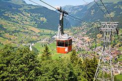 Liftanlage in Grindelwald