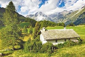 Hütten für Hüttenurlaub in der Romandie