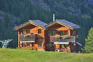 Hütten für Hüttenurlaub im Wallis