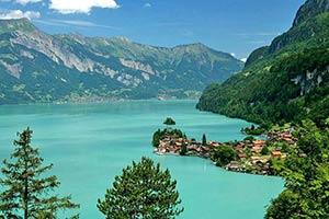 Ferienwohnungen in der Schweiz mit Seeblick