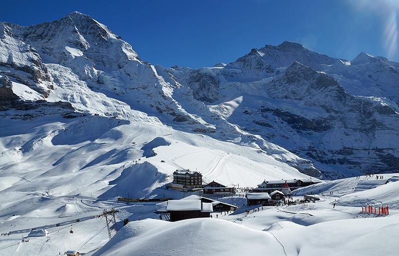 Kleine Scheidegg - Skiurlaub