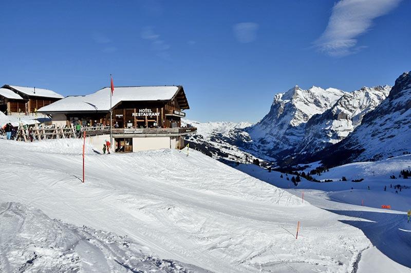 Restaurant auf der Kleinen Scheidegg