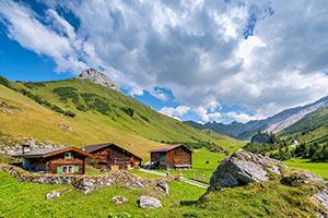Hütten für Hüttenurlaub in Graubünden