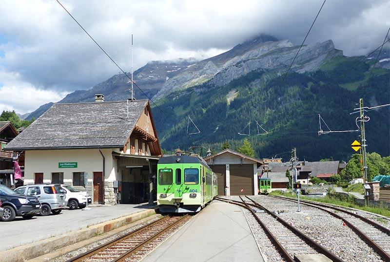 Les Diablerets - Bahnhof