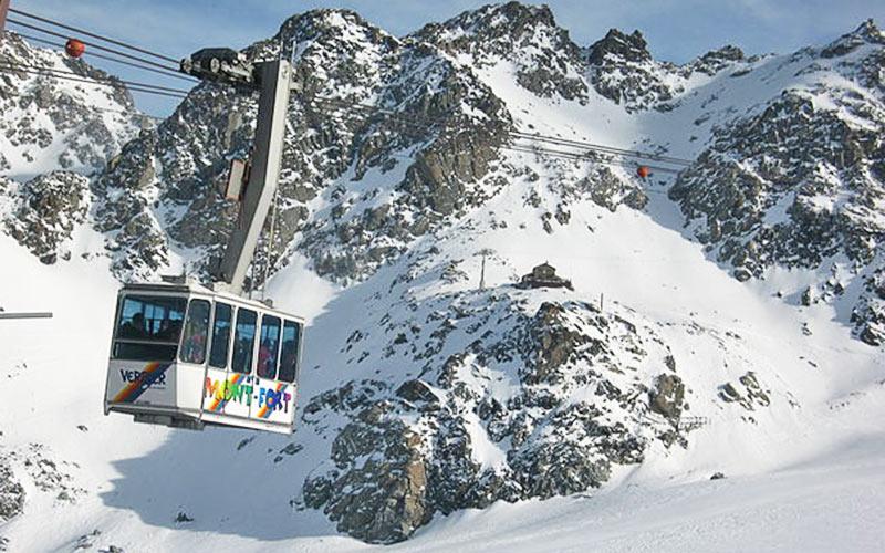 Skilift in Les Quatre Vallées