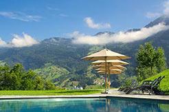 Ferienhäuser mit Pool in der Schweiz