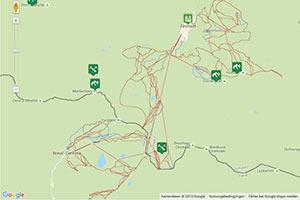 Matterhorn Ski Paradise Karte
