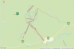 Motta Naluns Karte zur Routenplanung