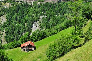 Hüttenurlaub in den Schweizer Alpen