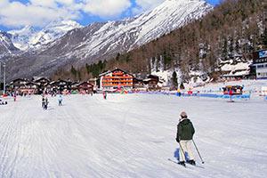 Ferienwohnungen im Skigebiet Saas-Fee