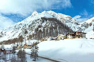 Ferienwohnungen Skiurlaub Silvretta-Arena Samnaun
