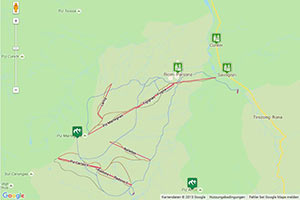 Savognin Karte zur Routenplanung