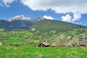 Urlaubsregionen der Schweiz
