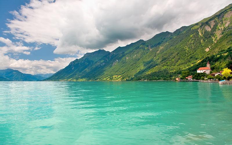 Urlaub am Brienzersee - Blick auf den See