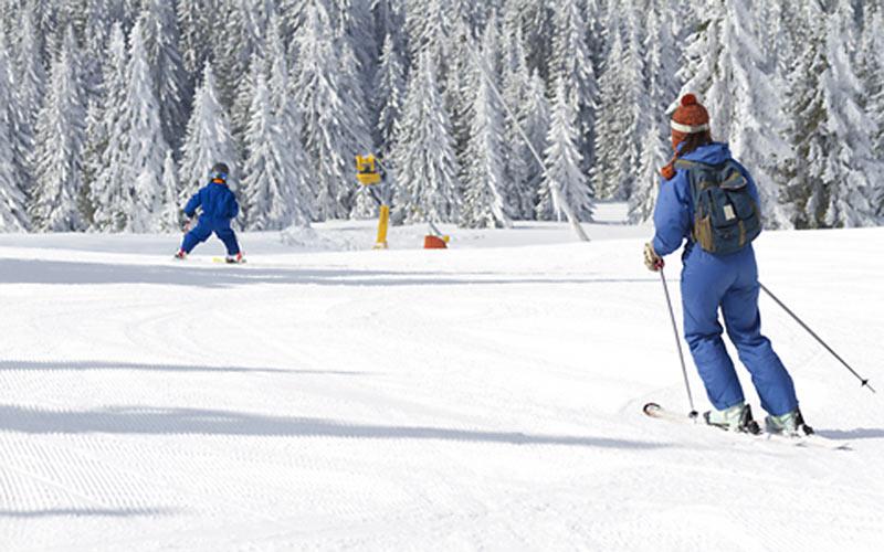 Die Schweiz ist ideal für Familien-Skiurlaub
