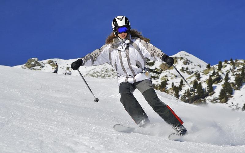 Skisport ist beliebt im Val d'Anniviers