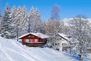 Ferienhäuser, Ferienwohnungen für Skiurlaub in Les Diablerets
