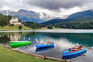 Ferienhaus & Ferienwohnung St. Moritz