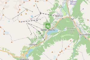 St. Moritz Karte