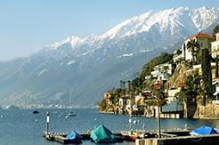 Tessin - Ansicht von Ascona