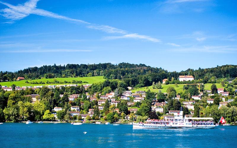 Urlaub am Vierwaldstättersee - Schweizer Mittelland