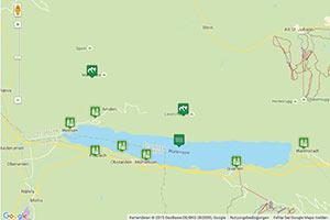 Walensee Karte zur Routenplanung