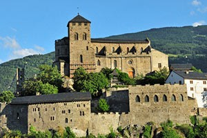 Basilika von Valeria im Wallis