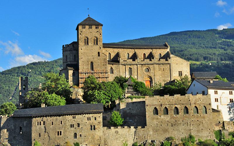 Urlaub im Wallis, Schloss Sion
