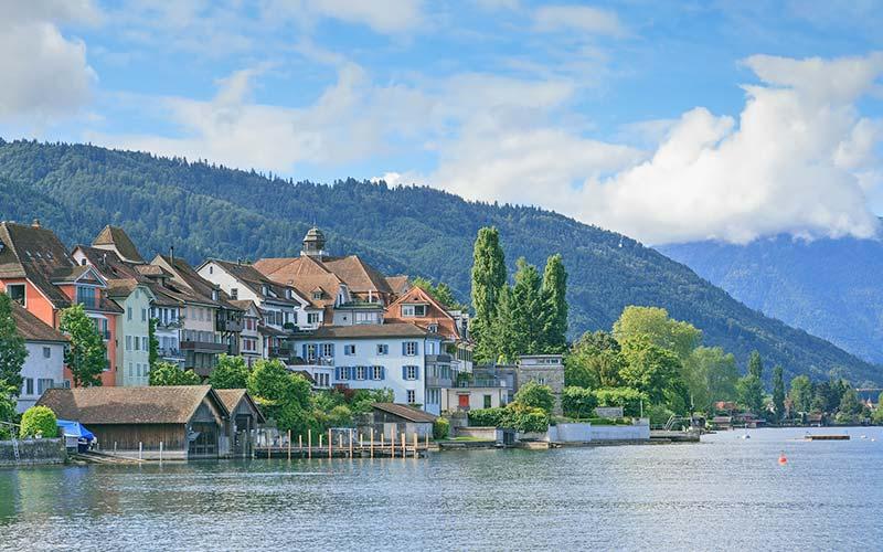 Urlaub am Zugersee - Stadt Zug am See
